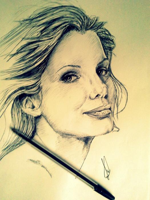 Sandra Bullock by Esus